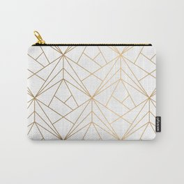 Polygonal Pattern Carry-All Pouch