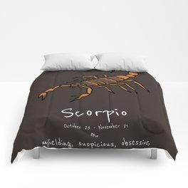 Scorpio Comforters