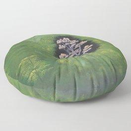 Hidden forest gem Floor Pillow