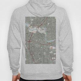 Sacramento California Map (1992) Hoody