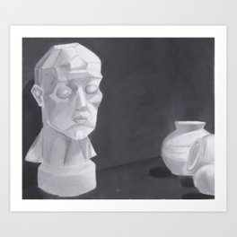 Pastel Art Print