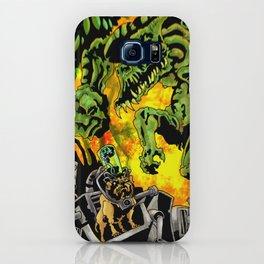 Doktor Steampug Versus Gorillizard! iPhone Case