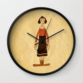 Olive Oyl Wall Clock