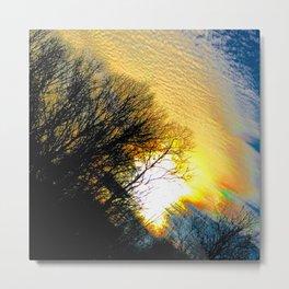 Sizzling Sunset Metal Print