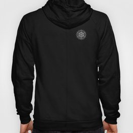 Mandala_Black and White Hoody