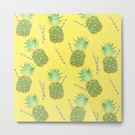 pineapple juice Metal Print