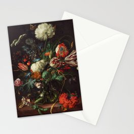 Jan Davidsz de Heem - Vase of Flowers Stationery Cards