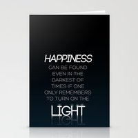 dumbledore Stationery Cards featuring Harry Potter Albus Dumbledore Quote by raeuberstochter