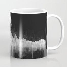 Los Angeles City Skyline HQ v5 WB Coffee Mug