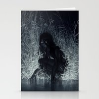 Stationery Cards featuring Nocturne by loish