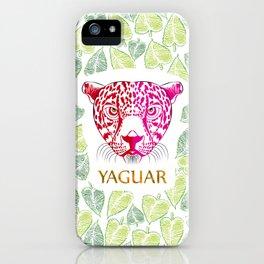 Yaguar iPhone Case