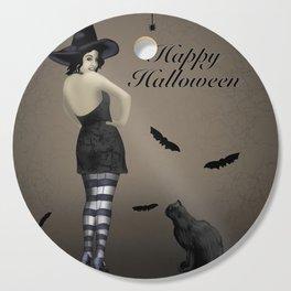 Sassy Witch Cutting Board
