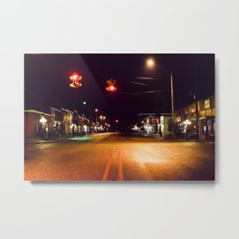 Empty town Metal Print