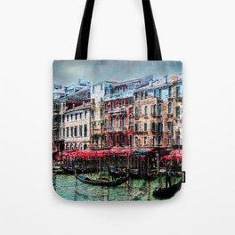 Venice Post Card Tote Bag