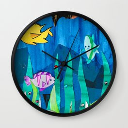 Underwater Life Wall Clock