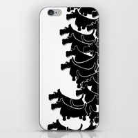 terrier iPhone & iPod Skins featuring Scottish Terrier by mailboxdisco