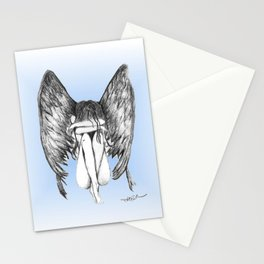 She Weeps Stationery Cards