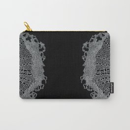 Single Digital Intricate 'Plant Cell' Pattern  Carry-All Pouch