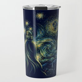 Death Starry Night Travel Mug