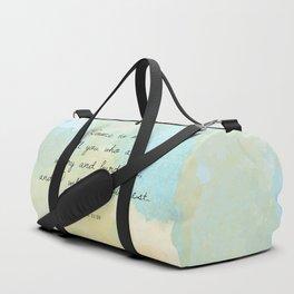 Matthew 11:28 Duffle Bag