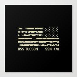 USS Tucson Canvas Print