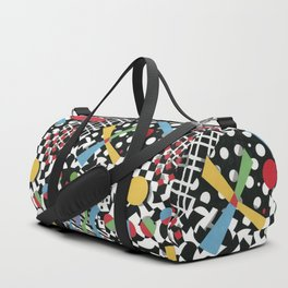 Ticker Tape Duffle Bag