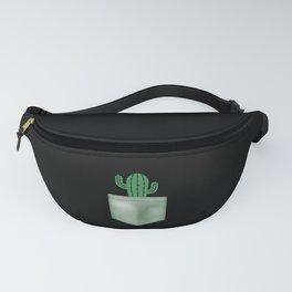 Funny Pocket Shirt - Desert Cactus - Cool Plant Fanny Pack