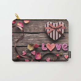 Love is as Sweet as Candy Carry-All Pouch