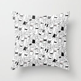 Rock and Roll: Concert Throw Pillow