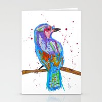 coco Stationery Cards featuring coco by Laurie Art Gallery