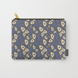 Swimming Turtles blue Carry-All Pouch