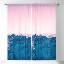 Pale Pink Sky Blackout Curtain