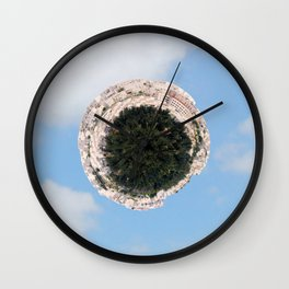 """Worlds in Jerusalem"" - City Neighborhood Wall Clock"