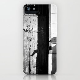 Photographer's Shadow iPhone Case