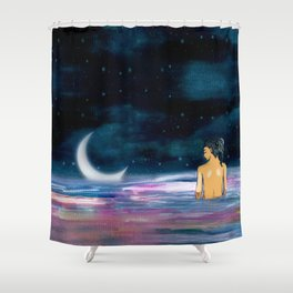 Stars cant shine without Darkness Shower Curtain