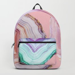 Mineral Agates #Glam collection Backpack