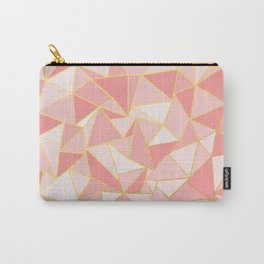 Ab Out Blush Gold Carry-All Pouch