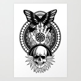 CYCLES Art Print