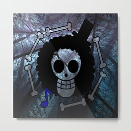 "Flag Brook ""One Piece"" Metal Print"