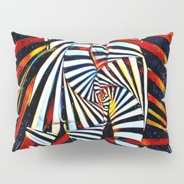 6805-LB Two Become as One Love Energy Abstraction Pillow Sham