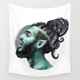 AfroAquaMan Wall Tapestry