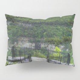 Out On a Ledge Pillow Sham