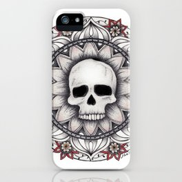 Skull Mandala I iPhone Case