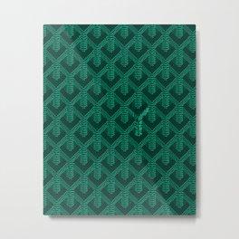 goyard green Metal Print