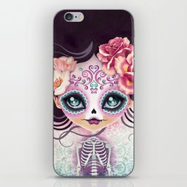 Camila Huesitos - Sugar Skull iPhone Skin