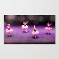 ballet Canvas Prints featuring Ballet by Tiffany Dawn Smith