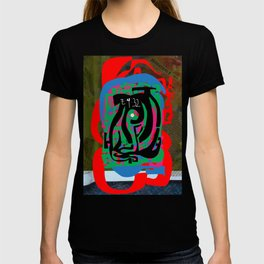 Hearts and Minds Are Not Straight Lines Never Let The Mind Go Asinine  T-shirt