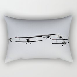 Biplane Rectangular Pillow