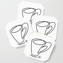 Cuppa Candor [Ivory] Coaster