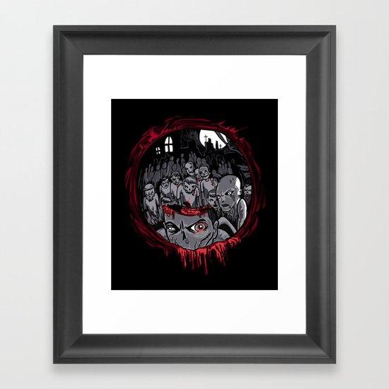 Shotgun'd! Framed Art Print